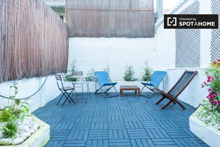 Appartamento con 1 camera da letto in affitto ad Alfama, Lisbona