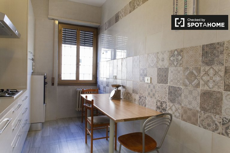 5-bedroom apartment for rent in Nomentano, Rome