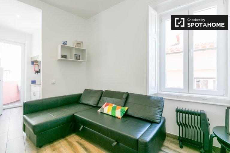 Lindo apartamento de estúdio para alugar em Alfama, Londres
