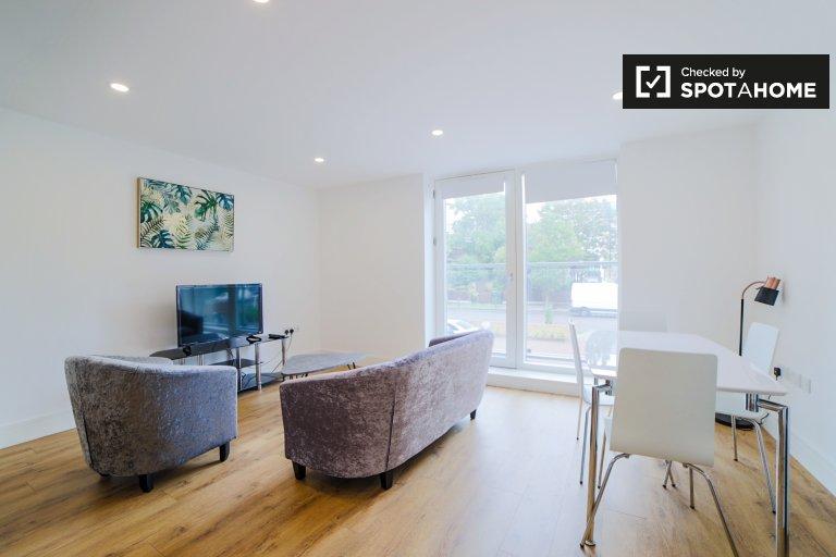 Nowoczesne 2-pokojowe mieszkanie do wynajęcia w Lambeth w Londynie