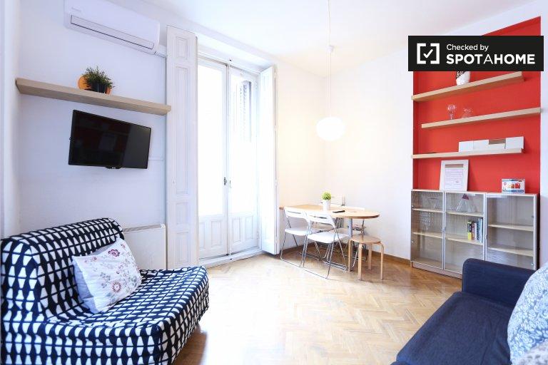 Apartamento de 1 quarto para alugar em Centro, Madrid