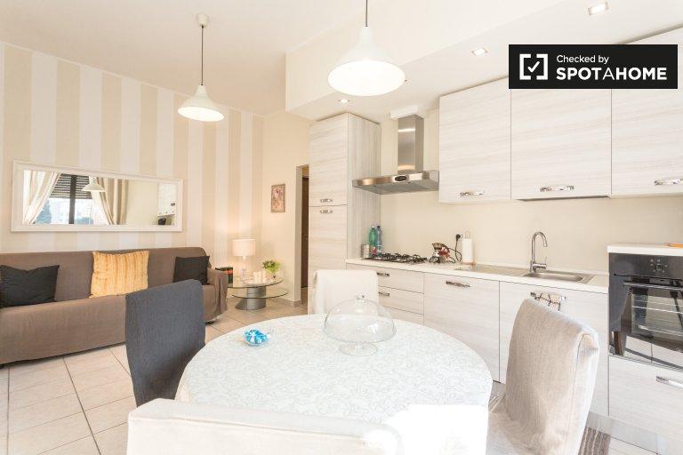 Grazioso appartamento con 2 camere da letto in affitto a Niguarda, Milano