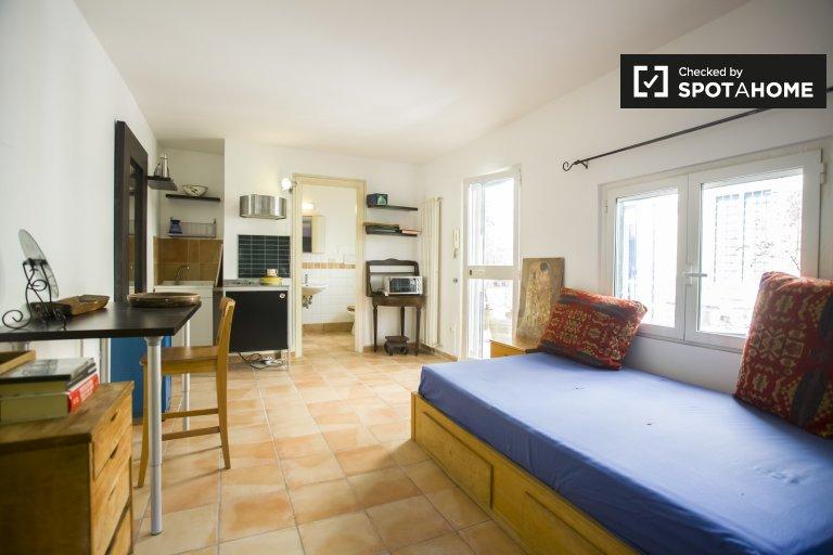 Confortevole appartamento monolocale in affitto a Monteverde, Roma