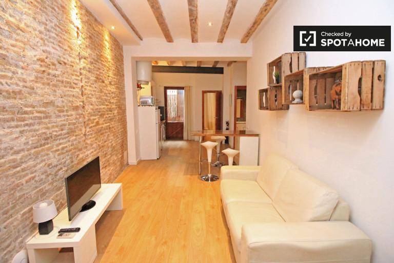 2-pokojowe mieszkanie z AC do wynajęcia, Barri Gòtic, Barcelona