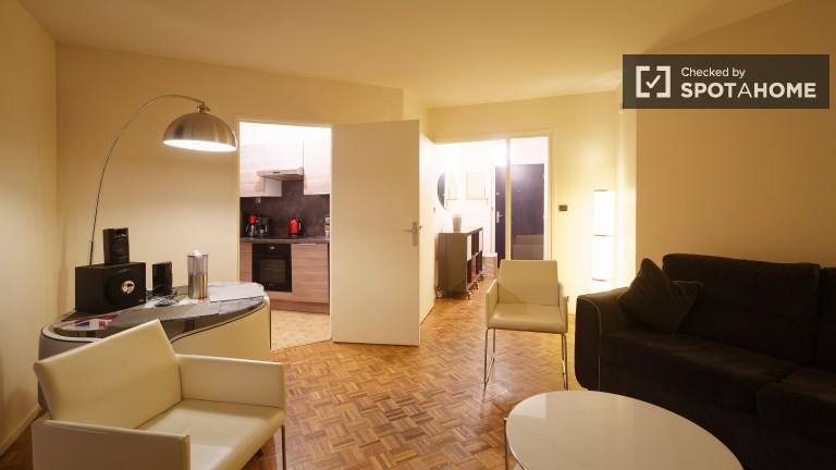 Elegante appartamento con 1 camera da letto vicino al centro di Parigi