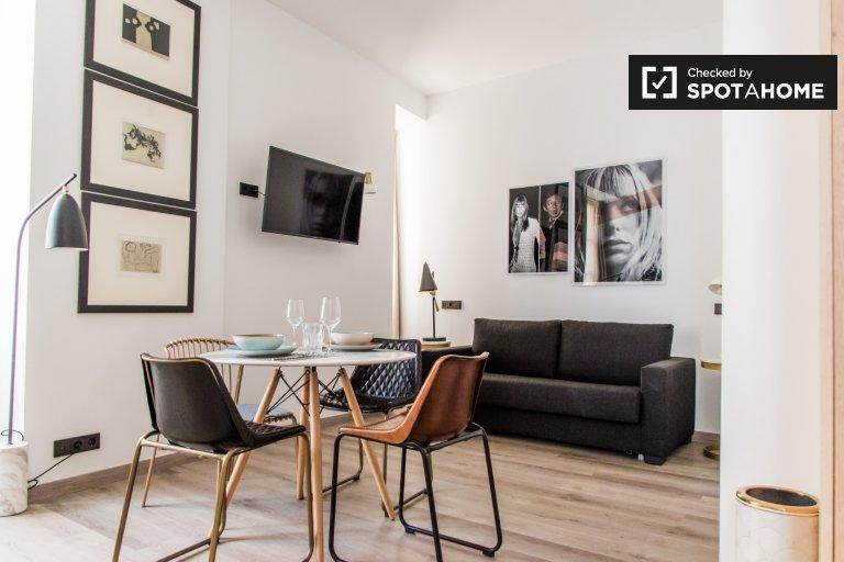 Moderno appartamento in affitto con 1 camera da letto, Ciutat Vella, Valencia