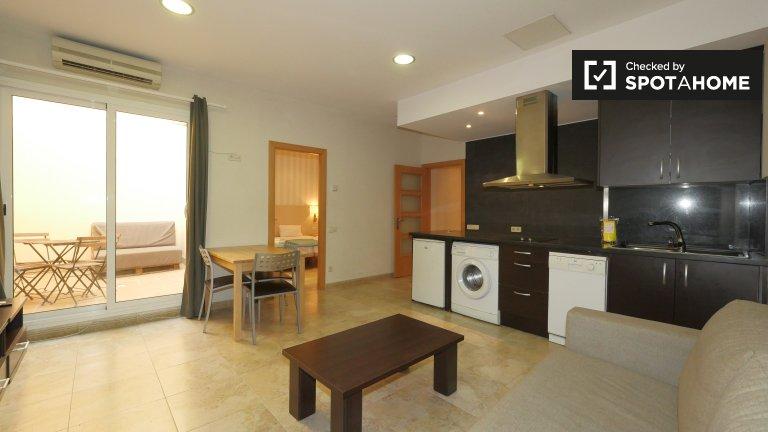 appartement 1 chambre à louer à El Raval, Barcelona