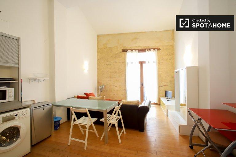 Super 1 quarto apartamento para alugar em Ciutat Vella, Valência