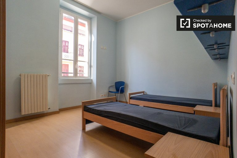 Beds for rent in shared  room, 2-bedroom apartment, Stadera