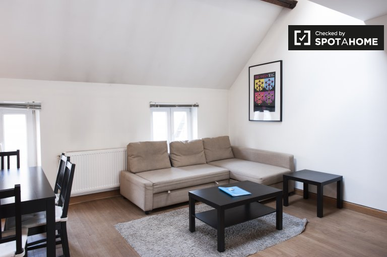 Charming 1-bedroom apartment for rent Schaerbeek, Brussels