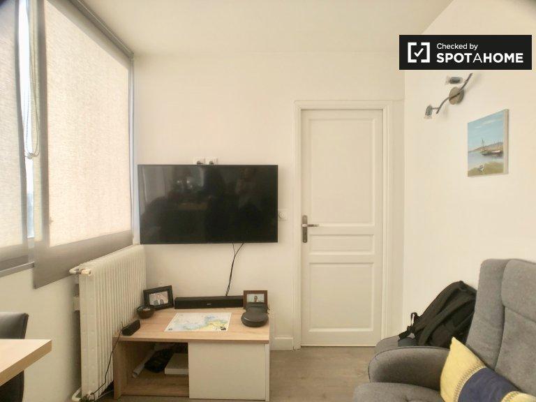 Tranquilo apartamento de 2 quartos para alugar no 13º arrondissement