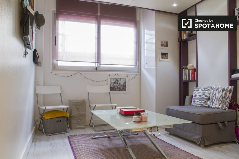 Modern studio apartment for rent in the 11th arrondissement