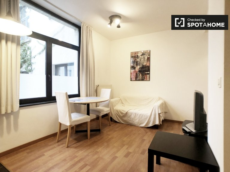 Ruhiges Studio-Apartment zu vermieten in Ixelles, Brüssel