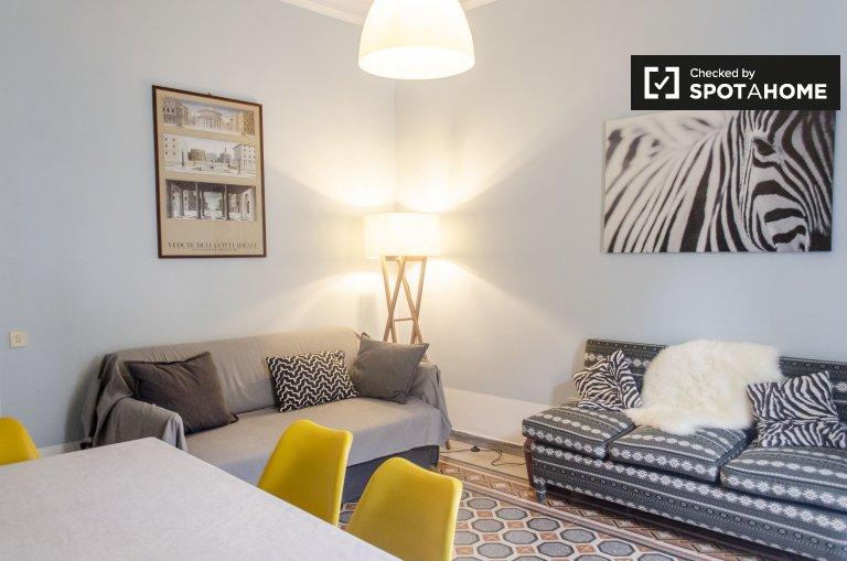 Spacieux appartement de 3 chambres à louer à Prati, Rome