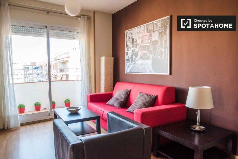 Uroczy 1-pokojowy apartament do wynajęcia w Patraix, Valencia