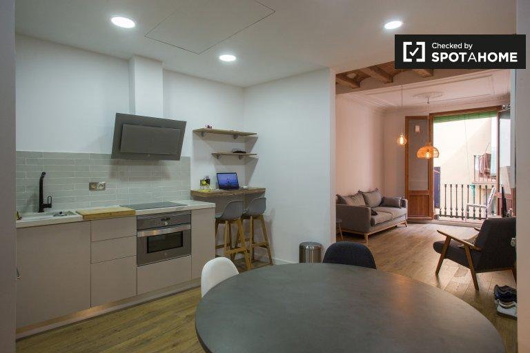 2-Zimmer-Wohnung zur Miete in El Born, Barcelona