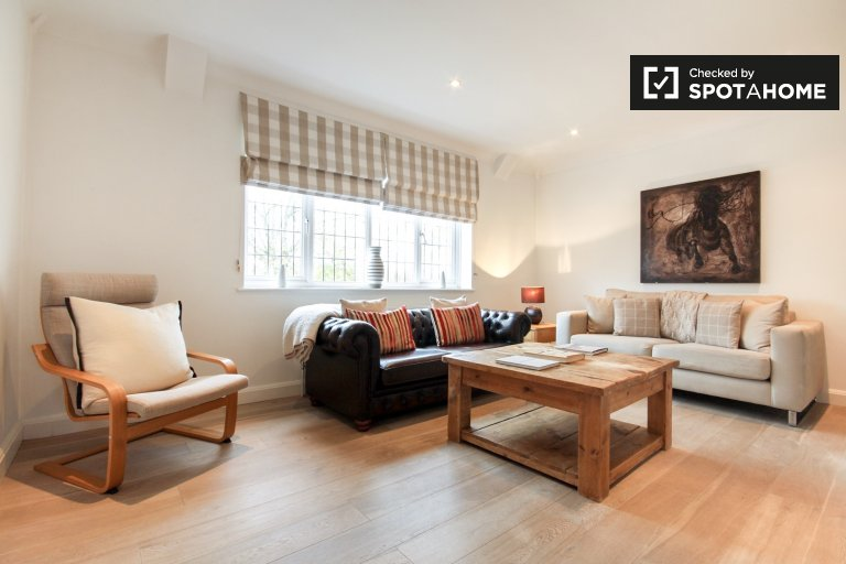 Modern 3-bedroom apartment to rent in Clapham, London
