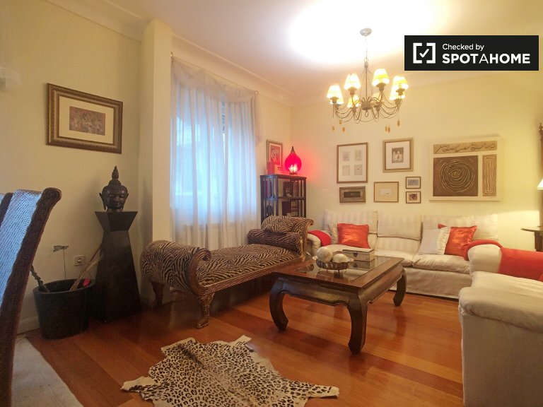 2-bedroom apartment with balcony and AC to rent, Guindalera