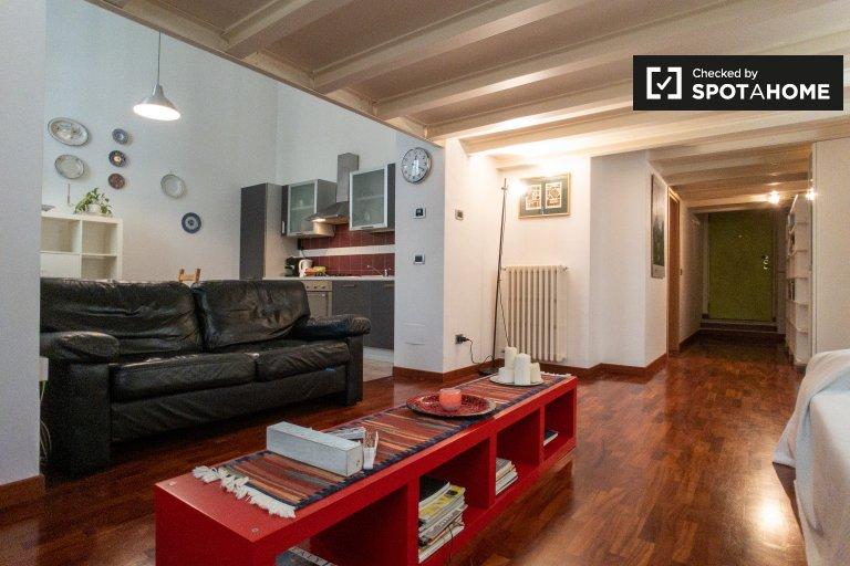 Apartamento de 2 quartos para alugar em Zona Farini, Milão