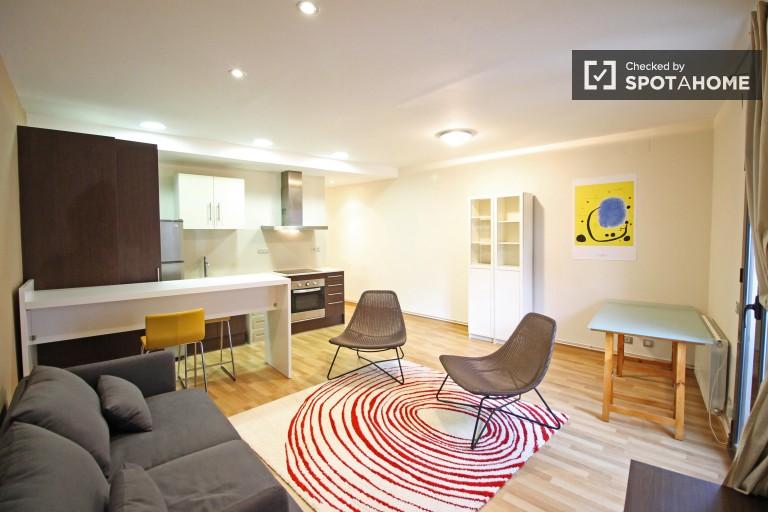 Kiralık Modern 2 yatak odalı daire - El Raval, Barselona