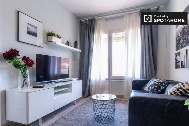 Sofisticado apartamento de 4 quartos para alugar em Barcelona