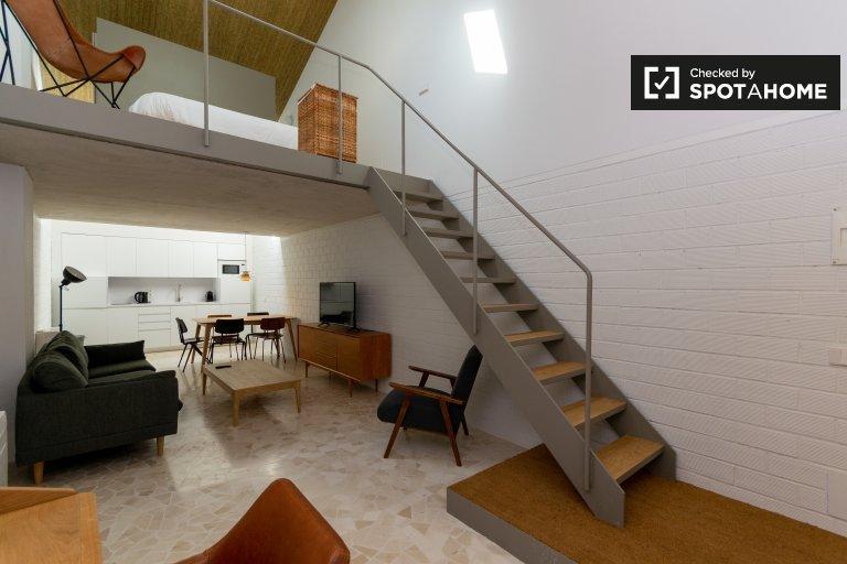 Studio-Wohnung zur Miete in Tetuán, Madrid