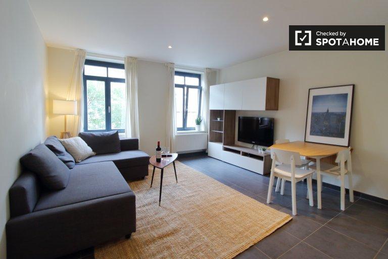 Elegancki apartament z 1 sypialnią do wynajęcia w centrum Brukseli