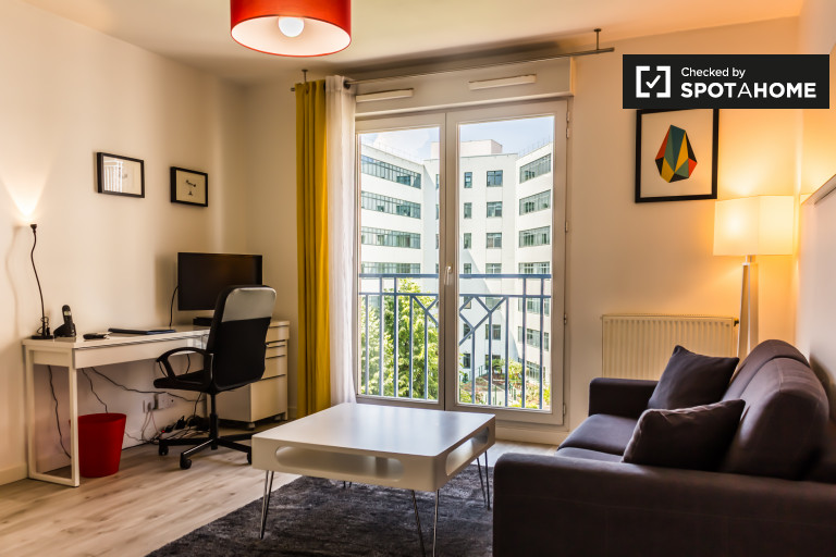 Modern 1-bedroom apartment for rent in Part-Dieu area