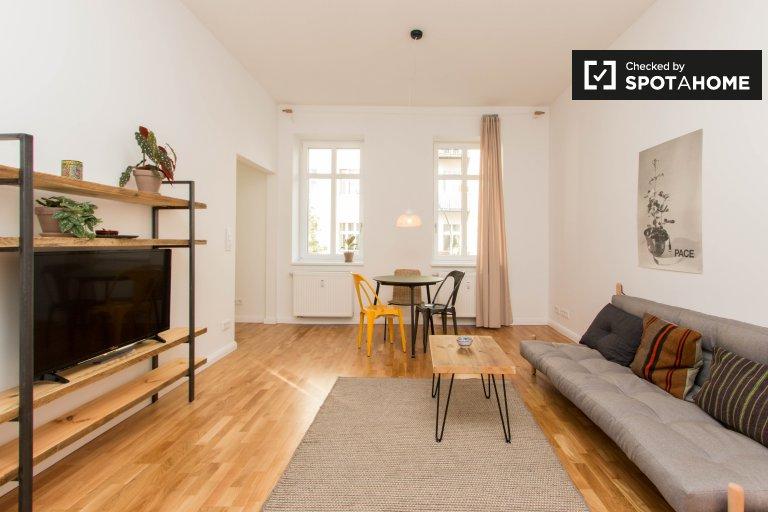 Modny apartament z 1 sypialnią do wynajęcia w Friedrichshain