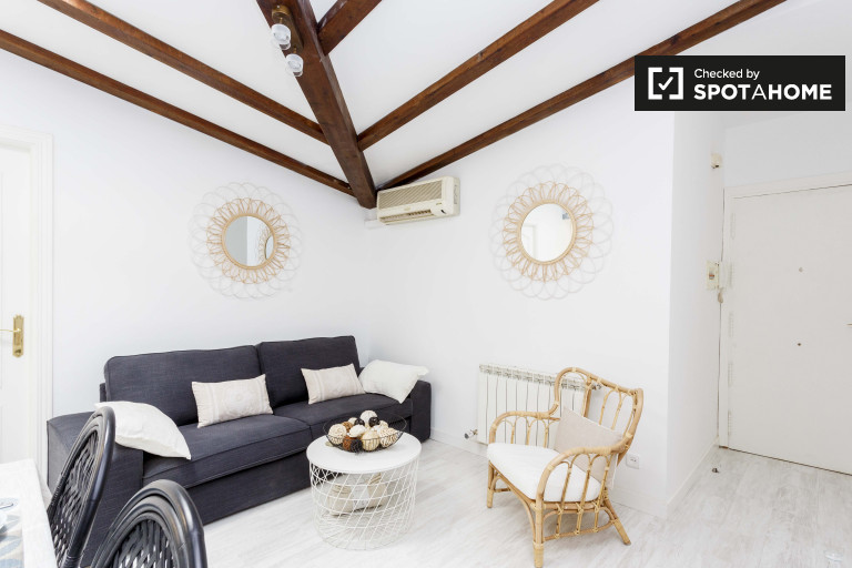 Stylish 2-bedroom apartment for rent in Madrid City Centre