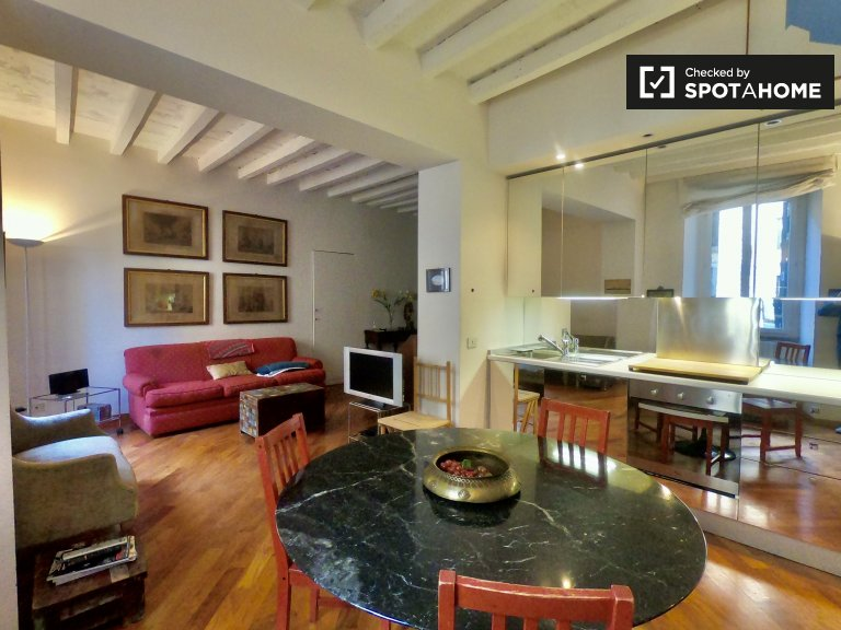 1-bedroom apartment for rent in Carrobbio, Milan