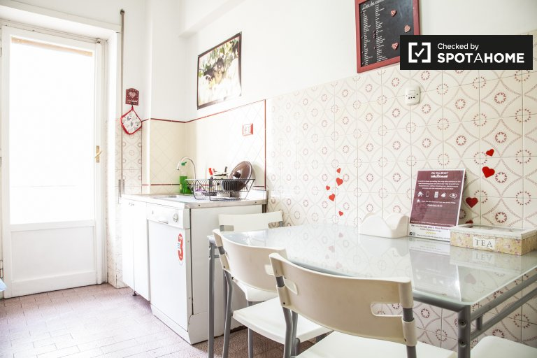 3 Bedroom Apartment For Rent In Pigneto, Rome