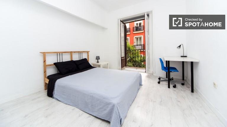 Chambre privée dans un appartement partagé à Puerta del Sol, Madrid