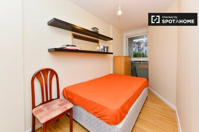 Relaxante quarto em apartamento compartilhado em Isle of Dogs, Londres