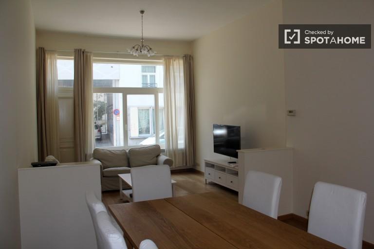 Modern 3 yatak odalı kiralık daire - Ixelles, Brüksel