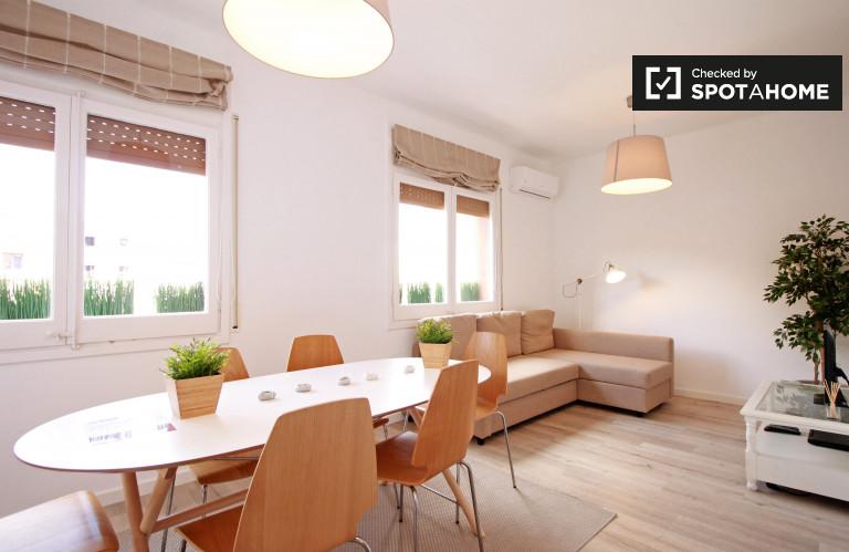 Bright 3-bedroom apartment for rent in El Born, Barcelona