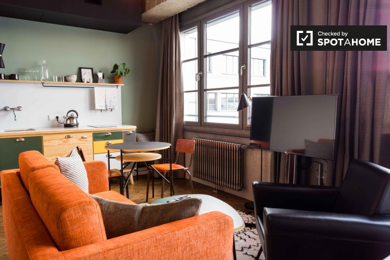 Studio apartment for rent in Friedrichshain, Berlin