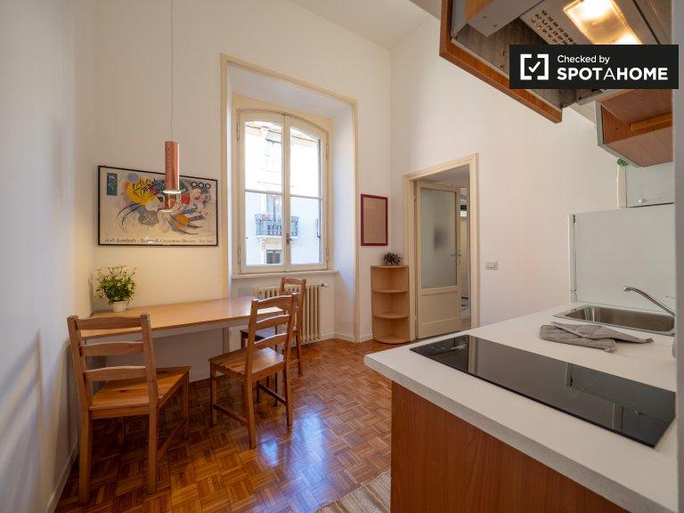 Apartamento com 2 quartos para alugar em Porta Venezia, Milão