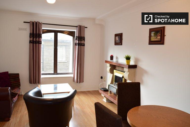 Apartamento mobiliado com 1 quarto para alugar em Dublin 8