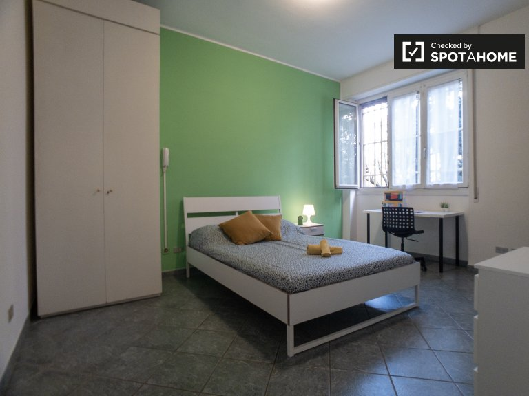 Bright room for rent in San Siro, Milan