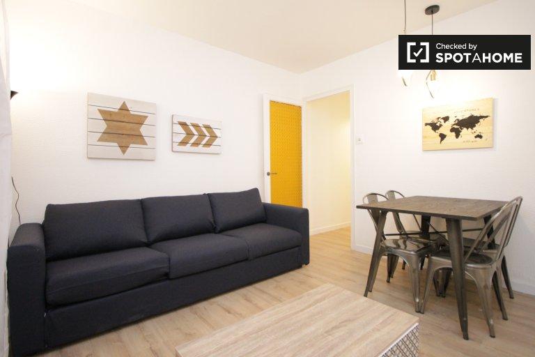 Moderno apartamento de 4 dormitorios en alquiler en Gràcia, Barcelona