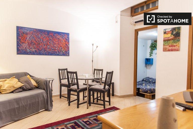 Lumineux appartement 1 chambre à louer à Flaminio, Rome