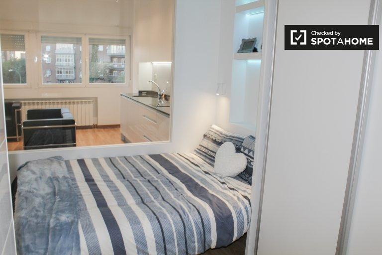Apartamento de 1 quarto para alugar em Retiro, Madrid