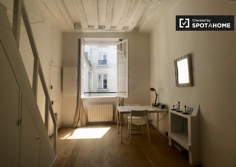 Studio bien rangé à louer dans le 7ème arrondissement de Paris