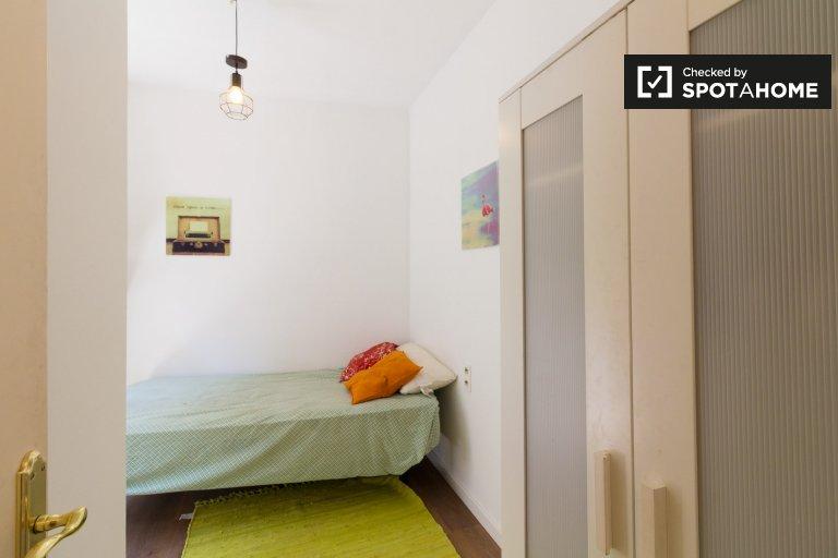 Kiralık şirin oda, 4 yatak odalı daire, El Born, Barcelona