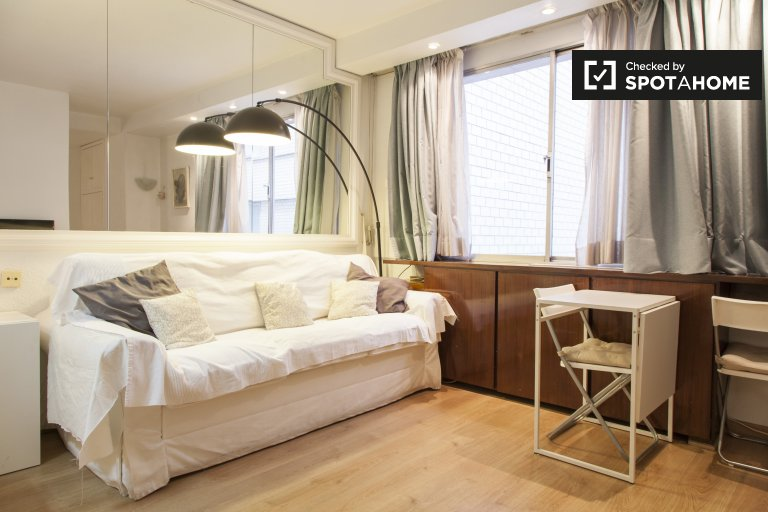 Neat studio apartment for rent in Chueca, Madrid