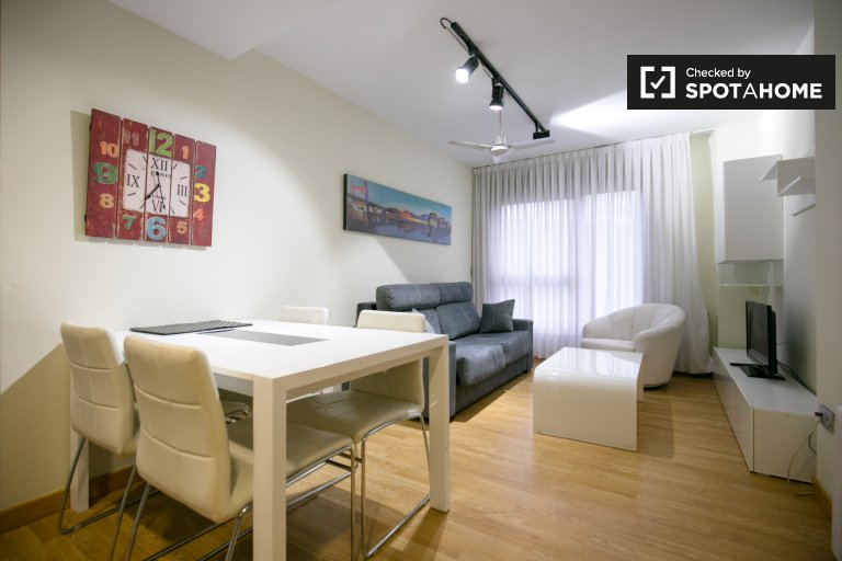 Cosy 2-bedroom apartment for rent in Begoña, Bilbao