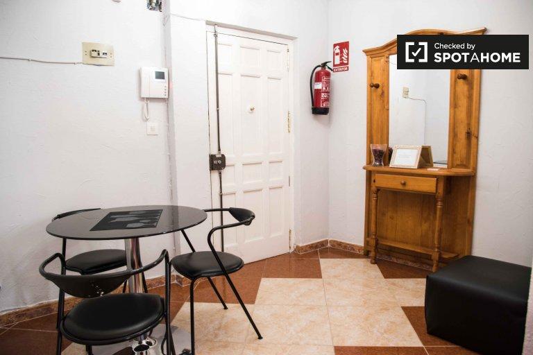 Acogedor estudio en alquiler en Ciutat Vella, Valencia