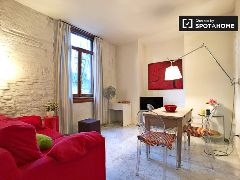Charming 1-bedroom apartment for rent in San Ambrogio D'Azeglio