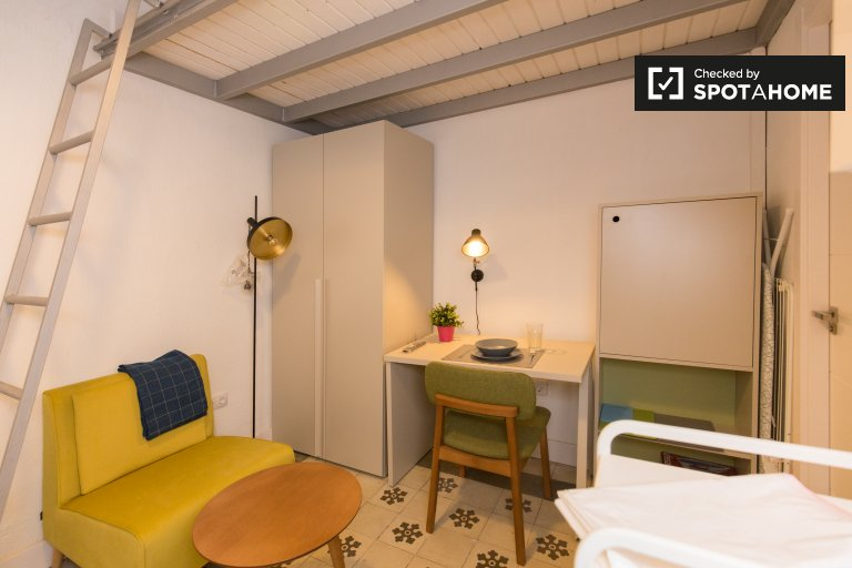 Tidy studio apartment for rent in Realejo